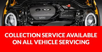 Collection service Available on all vehicle servicing
